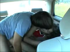 Follada en mi auto