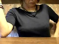 Daring public blowjob in asian restaurant