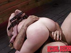 milf, blonde, bdsm, big ass, facial, crying, blindfolded, dungeon, mouth fuck, cowgirl, sexual disgrace, fetish network, jayden rae