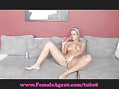 Femaleagent. bisexual blonde beauty