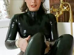 femdom, foot fetish, latex, masturbation, matures