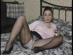 big boobs, british, lingerie, masturbation, nylon
