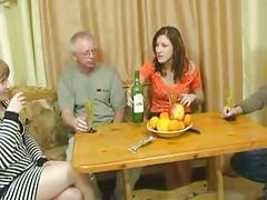 Sex party after dinner