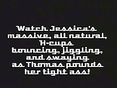 Jessica big juggs and anal fuck