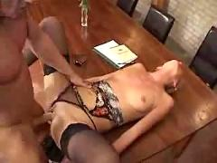 German milf fucked anal