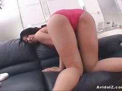 Tight horny asian sucks and fucks hard like crazy!