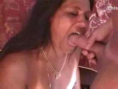 Milf has double the cum