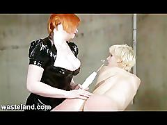 fetish, toys, bondage, lesbian, blonde, wasteland, bdsm, domination, extreme, brutal, sadism, masochism, slave, spanking, screaming, punishment, red-haired