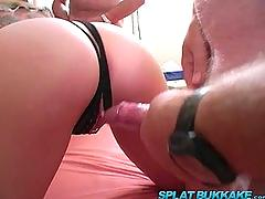 Uk gangbang party with blonde babe cloverx