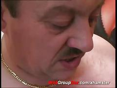 Busty germans first anal gangbang