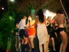 Hardcore party scene 1 jungle bangers