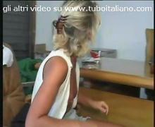 Italian blonde amateur biondona italiana 2