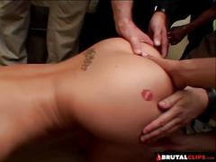 Brutalclips - delilah needs a line-up to quench her thirst f