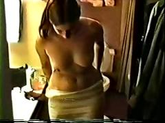 Wife entertaining guests (cuckold)