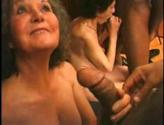 2 ladies and her ebony guy