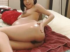 Hot little pregnant asian 2