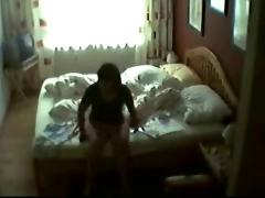 The best hidden cam of the net. my mom masturbating