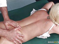 blonde, massage, babe, busty, oiled, rubbing, masseur, pov, dirty masseur, brazzers network, jordan ash, madison scott