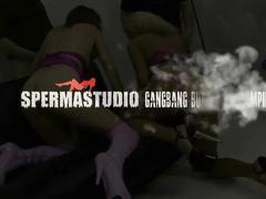 Cum, cum, cum, sperma-studio compilation 6