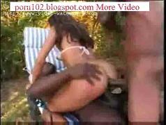 Asian girl interacial double penetration