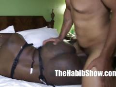 Ferrari blaque thicke taking that monster bbc