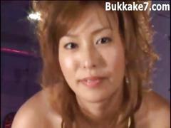 Japanese bukkake compilation 611089