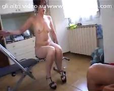Italian brunette milf la moretta troietta
