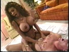 Veronica rio's massive tits get a cum bath