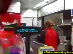 Ebony store clerk gives bj in bathroom   copy