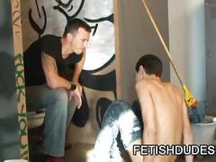 Slave daddy enjoys extreme pleasures