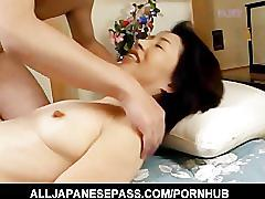 Makiko that has her pussy fingered and then fucked hard