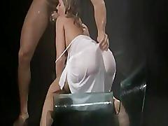Anal slut tyra fucks with big cock