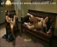 Sexy italian brunette  moretta maiala