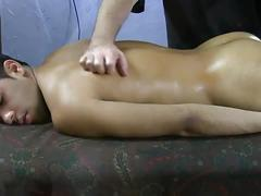 Amateur stud ezequiel gets his big cock jerked.