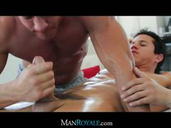 "Tyler saint and aj irons in ""man royale.com"""