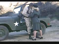 Hot army girl gets fucked hard