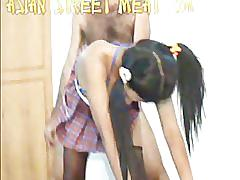 Cute thai anal bum fuck asian street meat green tea 2