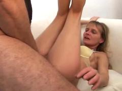 Foursome for blonde milf