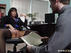 Fucking the hot colleague from work