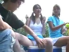Nudie tennisgirl seduces teache by snahbrandy