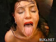 Mind blowing orgy party and a nice cum drenching