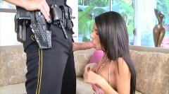 Dirty brunette slut fucked deep inside her asshole