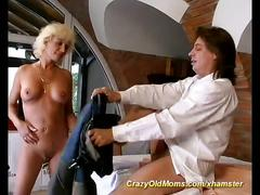 Moms first anal sex