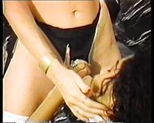 lesbians, sex toys, strapon, vintage