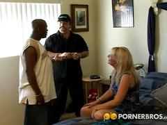 big dick, blonde, hardcore, interracial, pussy, milf, big black dick, black on white, cowgirl, doggy style, massive dick, missionary, platinum blonde, reverse cowgirl, rough fuck, shaved pussy, tight pussy