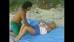 Beach and boobs