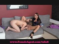 Femaleagent. shy hippie tatstes pussy