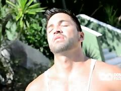 Dominic pacifico outdoor solo wanking