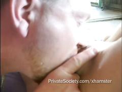 Cuckold hubby watches wife with his brother and the landlord