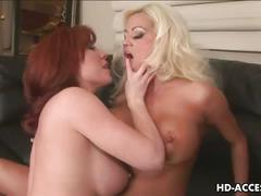 Lesbian foursome's dildo delights